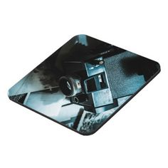 Dark room photographic process coaster