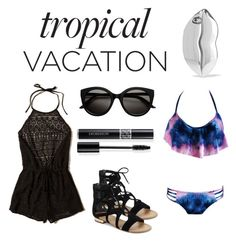 """Let's hit the beach."" by kylie-the-cross-country-runner on Polyvore featuring Hollister Co., Saks Fifth Avenue, STELLA McCARTNEY and Christian Dior"