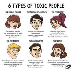 Knowledge Chop 📚 Types of Toxic People Click Image or Website Link for full sized images and more info. Share-with-a-Friend to chop them with knowledge. Mental And Emotional Health, Emotional Abuse, Mental Health Awareness, Emotional Healing, Infj, Affirmations, Manipulative People, Stress, Positive People
