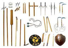 Okinawan kobudō (沖縄古武道) refers to the weapon systems of Okinawan martial arts.