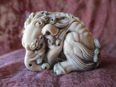 A Wonderful Netsuke of Baku | eBay