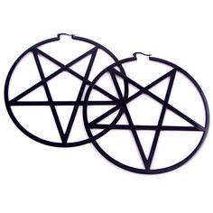 Pentagram Earrings [B]