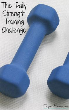 Get fit with this strength training challenge! This fitness challenge will help you get into shape, especially if you are newer to exercising. And it won't take a ton of time out of your day, either! Just a few minutes each day and you'll see yourself get stronger and in better shape. Get the details for how to do this strength training challenge (plus fitness tips, exercise ideas, and additional workout challenges) in this article.