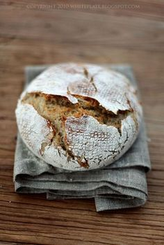 Simple and perfect Pastry And Bakery, Bread And Pastries, Bread Recipes, Cooking Recipes, Bread Bun, Our Daily Bread, Polish Recipes, Bread Baking, Holiday Recipes