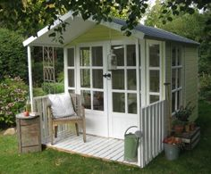 1000+ images about Garden Sheds/ Greenhouses/ Studios on ...