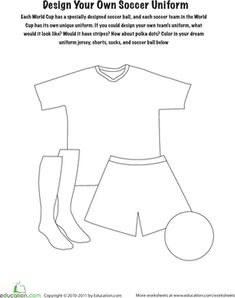 1000 images about world cup fun for kids on pinterest for Design your own athletic shirt
