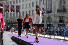 Models show off their style at The Street is My Catwalk. Model Show, Summer Activities, Retail Therapy, Catwalk, Models, Street, Templates, Roads, Summer Fun