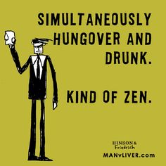 Zen! Queasy, blurry zen. More like this on our Facebook page, and in our book. Available on Amazon. Cheers!