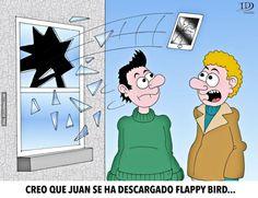 Juan se ha descargado Flappy Bird