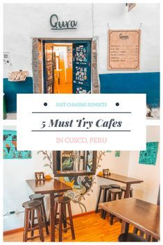 Cusco, Peru has an amazing food scene, including their Cafes. Let the foodie in you loose as you explore the cute cafes in the San Blas neighborhood of Cusco, Peru.