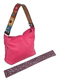 Katie Kalsi handbag at Belk!  http://www.belk.com/AST/Main/Belk_Primary/Handbags_And_Accessories/Featured_Shop/DesignerHandbags/PRD~2601336SADIE/Katie+Kalsi+Sadie+Medium+Interchangeable+Strap+Shoulder+Bag.jsp?cm_vc=cross_sell_prod_page