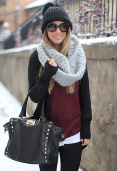 Big Scarf + overall look … | Fashion clothes and accessories | Pint… - VeTheBox Fashion Lifestyle  dresses,girl,fashion share by vthebox.com