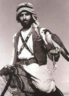 "arabswagger: "" Vintage Photo of Sheikh Zayed of UAE "" One of my favorite vintage photos of all time."