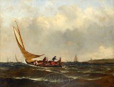 William Moore Davis - Fishing Off Montauk