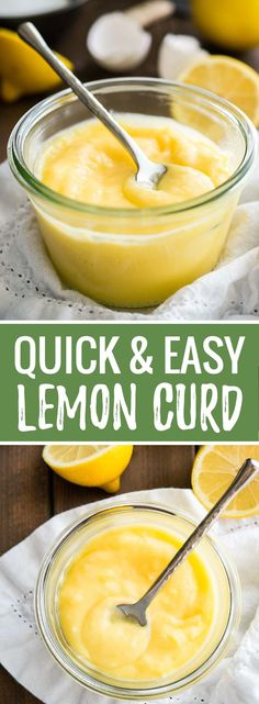 This easy Lemon Curd recipe is super simple to make and tastes delicious! This easy Lemon Curd recipe is super simple to make and tastes delicious! A smooth lemon spread that also makes a great filling for cakes and cupcakes. Easy Lemon Curd, Lemon Filling, Lemon Curd Uses, Sugar Free Lemon Curd, Lemon Jam, Chia Pudding Vegan, Just Desserts, Dessert Recipes, Easy Lemon Desserts
