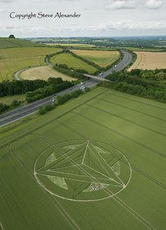 Wanborough Plain near Liddington, Wiltshire, England, UK, 1st July 2012, Wheat…