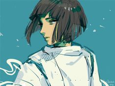 Don't forget, Chihiro, I'm your friend. Hayao Miyazaki, Studio Ghibli Characters, Ghibli Movies, Girls Anime, Howls Moving Castle, Spirited Away, Op Art, Totoro, Anime Couples
