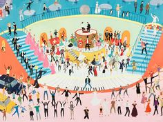 How many classic film dance scenes can you spot?