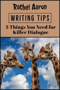 Writing Wednesday: The 3 Things You Need for Killer Dialogue Writing A Book, Writing Tips, Got Characters, Real People, Rogues, Real Life, Novels, Author, Books