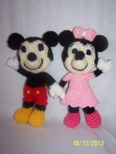 Minnie Mouse Amigurumi Paso A Paso : 1000+ images about Amigurumi cizgi Karakterler Cartoons on ...