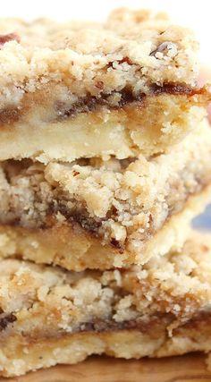 Apple Butter Cheesecake Streusel Bars