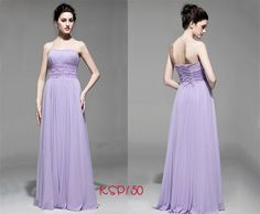 strapless long bridesmaid dresses uk with lace waistline