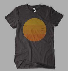 Tycho SUN t-shirt. $25
