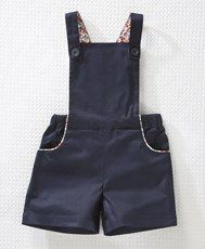 cute short overall pattern