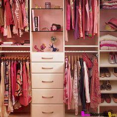Girls closet organizer