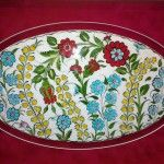 523364_4441605519479_1216028418_n Turkish Tiles, Textile Art, Pattern, Embroidery, Google, Dishes, Needlepoint, Patterns, Drawn Thread