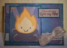 3 Girl JAM: Light My Fire with Jute Ribbon