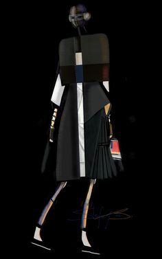 A Mechanical Fashionist   Stefania Belmonte   fashion design