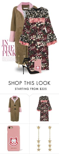 """""""Feb 8th (tfp) 5155"""" by boxthoughts ❤ liked on Polyvore featuring Saks Potts, Mother of Pearl, Miu Miu, Jennifer Meyer Jewelry, Gianvito Rossi and tfp"""