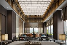 Exterior Design, Interior And Exterior, Wall Cladding Designs, Resort Interior, H Hotel, Study Architecture, Hospitality Design, Wall Treatments, Indoor