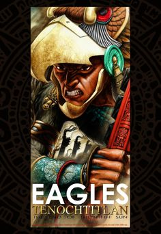 For Tenochtitlan, relation of a graphic novel: The Eagle Warrior Banner / Banner…