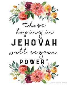 Description 2018 YEAR TEXT FOR JEHOVAHS WITNESSES Perfect for SKE Grads, Pioneer, or Elders. This print would make a lovely present or a source of encouragement for anyone! Listing is for 1 PRINTABLE JPEG file. This is an INSTANT DOWNLOAD file. No items will be shipped. You can