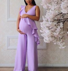 Pink Baby Shower Dress, Maternity Dresses For Baby Shower, Cute Maternity Outfits, Stylish Maternity, Maternity Gowns, Pregnancy Outfits, Mom Outfits, Maternity Fashion Wedding, Maternity Pictures