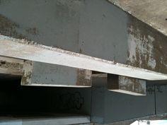 Cool cement blocks in Reno drainage culvert