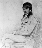 William Daniell. Artist and engraver of Indian scenes.  Orphaned early, he was adopted by his uncle, Thomas Daniell, a landscape painter, and taken as his assistant to Indian, returning to London in 1794.  Died at home at 135 St Pancras Way.