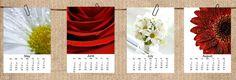 Calendar 2013 Flower 5x7 Loose Page Calendar by CrystalGaylePhoto, $30.00
