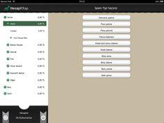 Hesabını bilmenin en doğru, akıllı ve kolay yolu iPad Screenshot #nilaccra #ipad #budgetfactor #hesapkitap