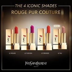 Yves Saint Laurent Rouge Pur Couture Kiss and Love  #YSLRougePurCouture