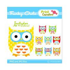 Clip art Owls     $3,5