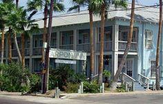 Tarpon Inn, Port Aransas, TX - lots of yummy seafood restaurants in this little island town