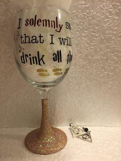 cd9e704b288 27 Best Harry Potter Wine Glasses images in 2014   Harry potter wine ...