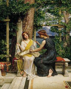Sir Edward J. POYNTER - 1,919 Helena and Hermia
