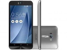 """Smartphone Asus ZenFone Selfie 32GB Prata - Dual Chip 4G Câm. 13MP + Selfie 13MP Tela 5.5"""""""