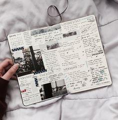 """A látszólagos rendezettlenség személyessé teszi a Bullet Journalodat - nem kell szabályokat követnek, nem kell odafigyelned, hogy """"szép"""" legyen. Ragassz bele emlékeket, jegyzeteld le, amit éppen hallottál vagy ami foglalkoztat. Így lesz a terveződ egyben az emlékkönyved is."""