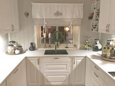 Good morning dear Instafriends Wish all of you a great day ~~~~~~~~~~~~~~~~~~~~~~~~~~~~~~ Shabby Chic Shelves, Shabby Chic Homes, Kitchen Shelves, Kitchen Cabinets, Concrete Countertops, Living Room Decor, Kitchen Design, Kitchens, Houses