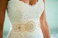 lace wedding gown- three ways…